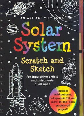 Solar System Scratch and Sketch By Zschock, Heather